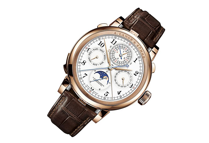 A. Lange & Sohne Grand Complication luxury watch