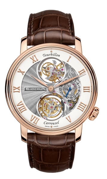 expensive watch BLANCPAIN LE BRASSUS TOURBILLON CARROUSEL