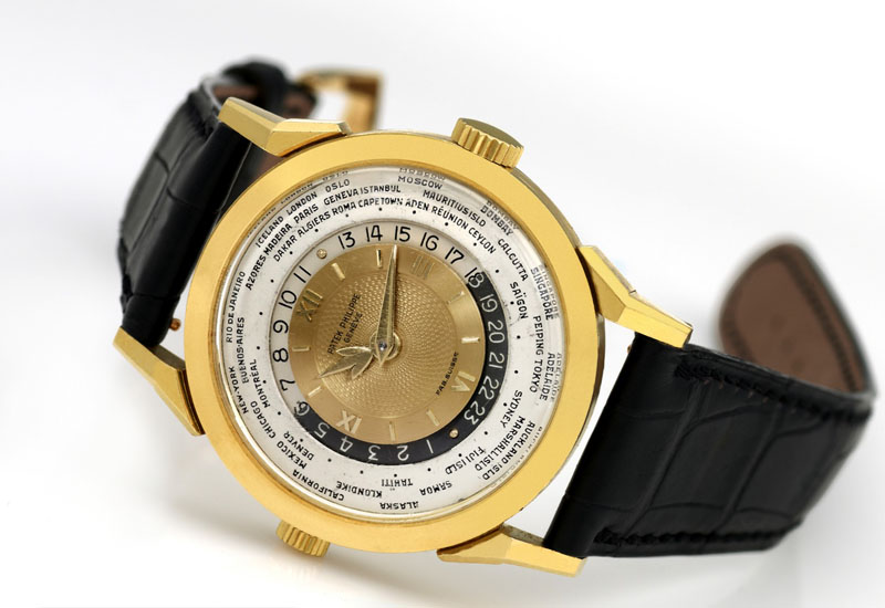 invaluable watches PATEK PHILIPPE 1953 MODEL 2523 HEURES UNIVERSELLES