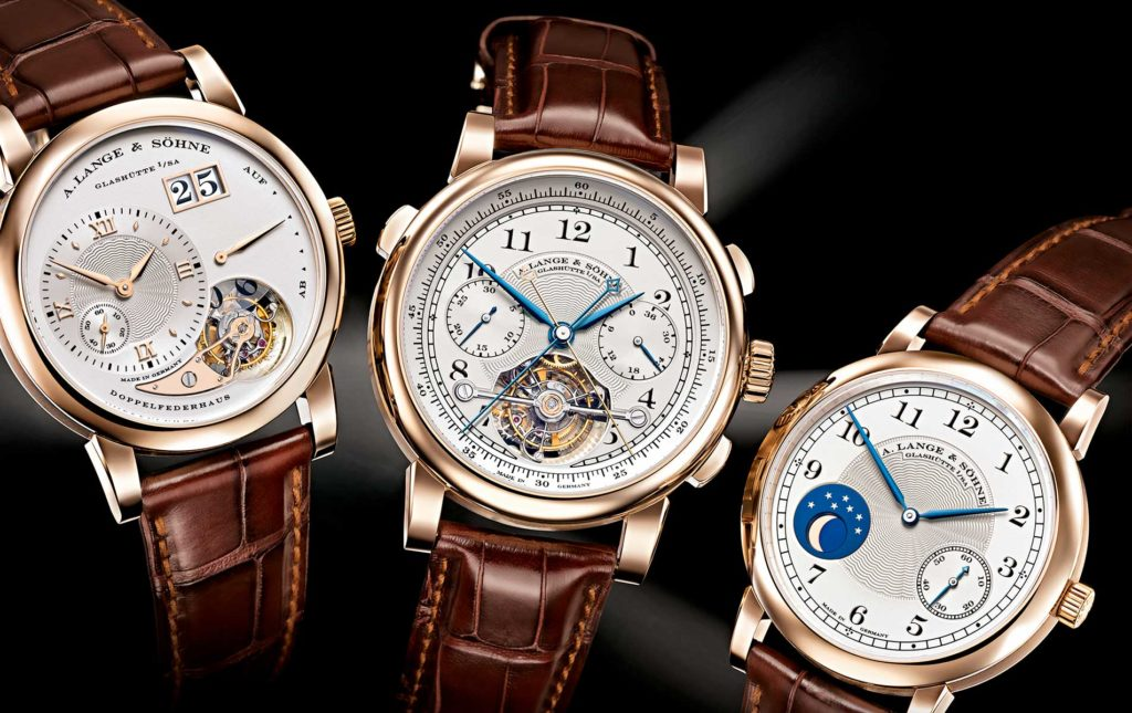 A Lange & Sohne watches
