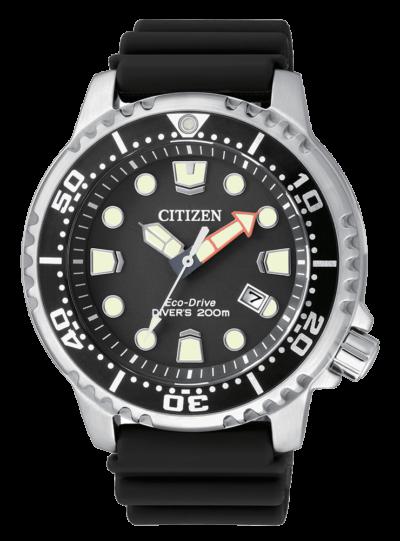 Citizen Promaster Diver Eco Drive Rubber strap BN0150-10E