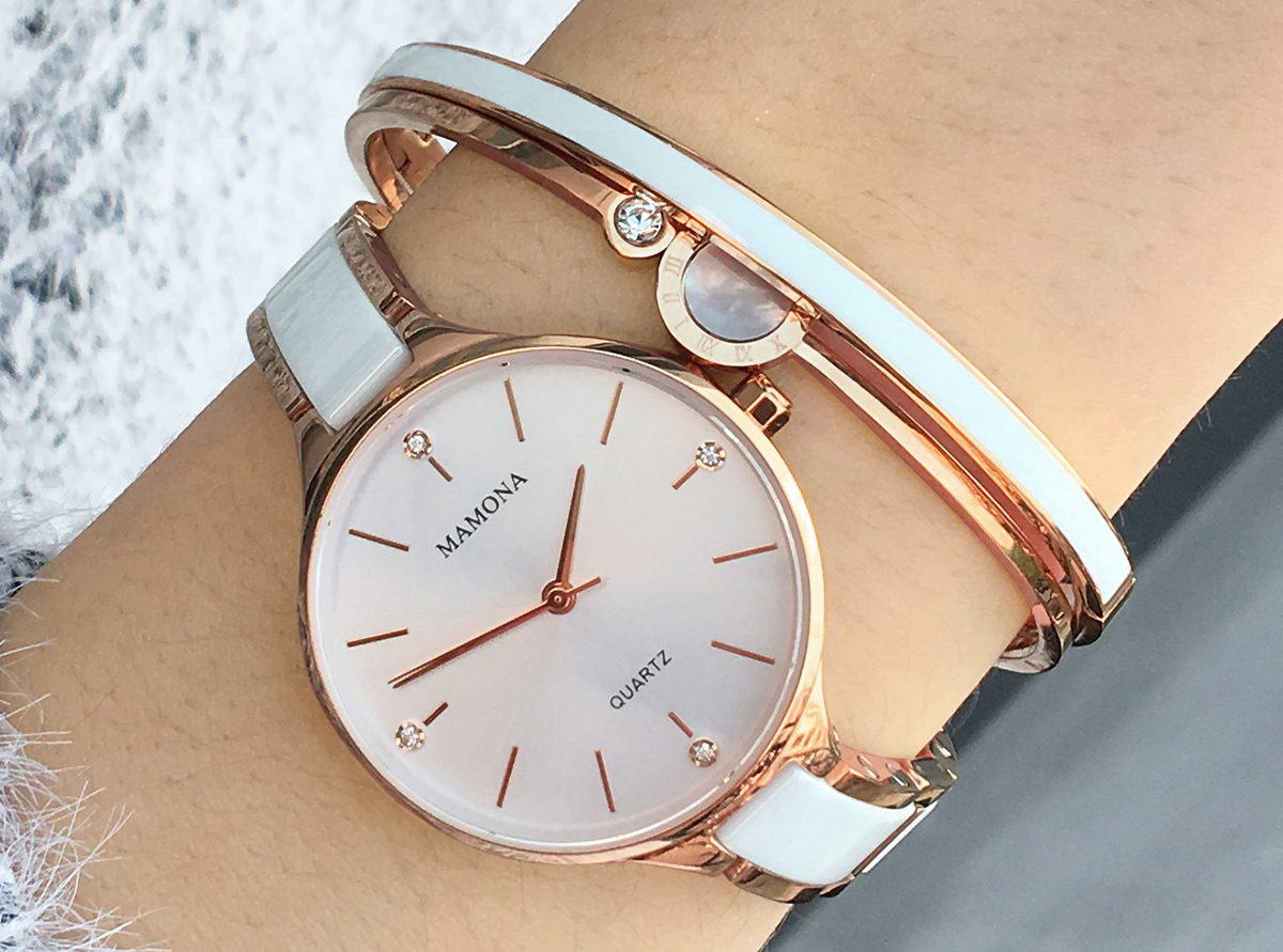 Ladies bracelet watch - MAMONA L3877GT