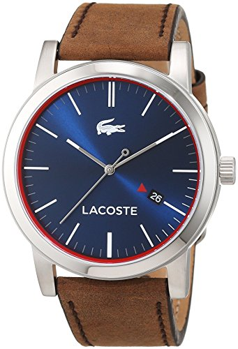 Man watch with brown strap - Lacoste 2010848