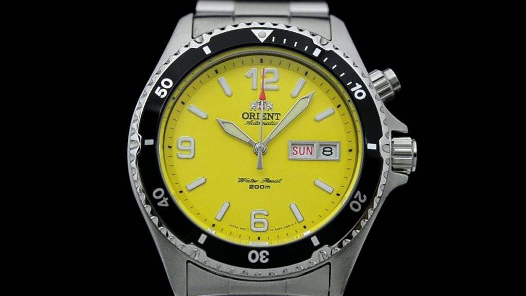 Orient Mako yellow