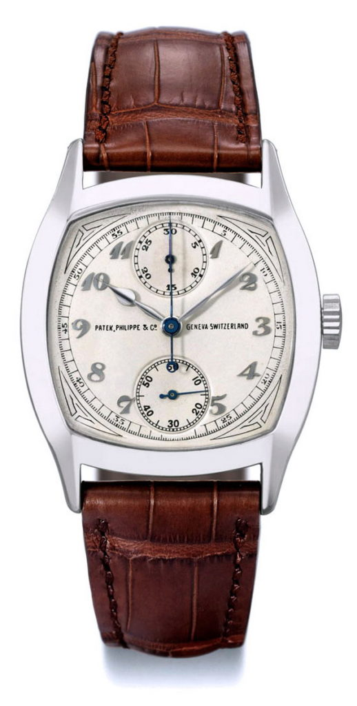 precious watch PATEK PHILIPPE 1928 MONOPULSING CHRONOGRAPH