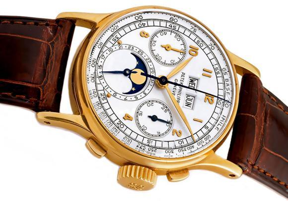PATEK PHILIPPE REFERENCE 1527 PERPETUAL CALENDAR watch