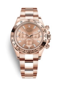 Pink Rolex Daytona With Movement 4130 116505-0006