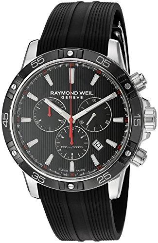 Raymond Weil 8560-SR1-20001 Men's Watch rubber strap