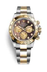 Rolex Daytona Black mother-of-pearl with diamonds 116503-0009