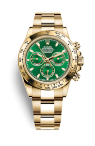 Rolex Daytona Green 116508
