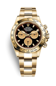 Rolex Daytona gold with red hands 116508-0009