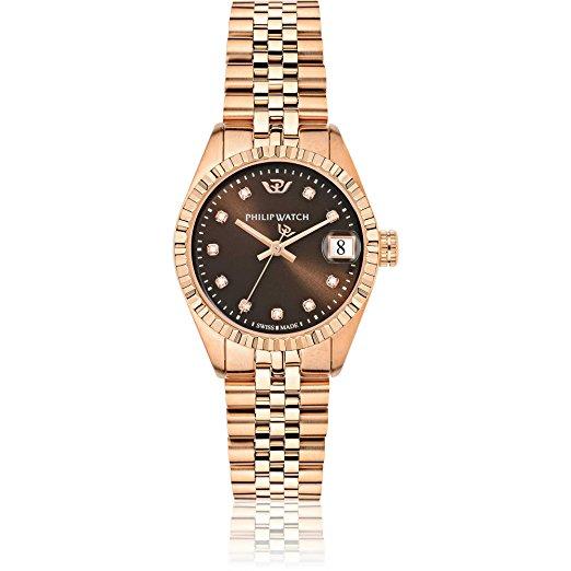 Rose gold women's watch - Philip Watch Caribe R8253597520
