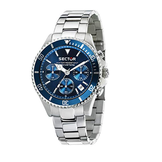 Sector Men's Stainless Steel Chronograph Watch