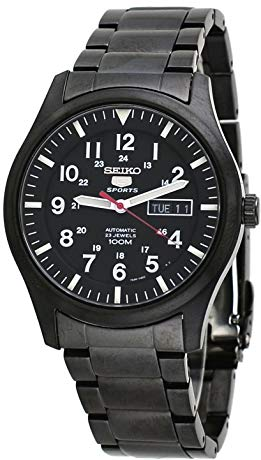 Seiko 5 all Black