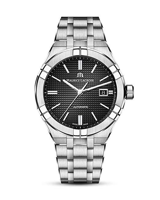 Swiss steel watch Maurice Lacroix Aikon