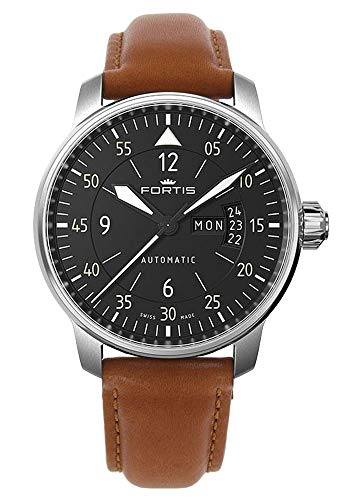 Swiss wrist watches Fortis aviatis Cockpit One 704.21.18 L.28