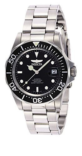 Top Selling Watches Invicta Pro Diver Men's Analog with Stainless Steel Strap