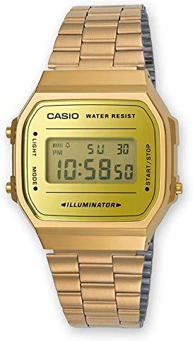 Unisex Gold Casio watch