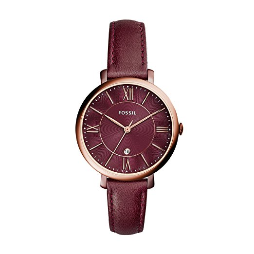 Woman watch with leather strap - Fossil ES4099