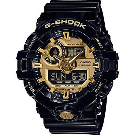 casio G-shock gold black