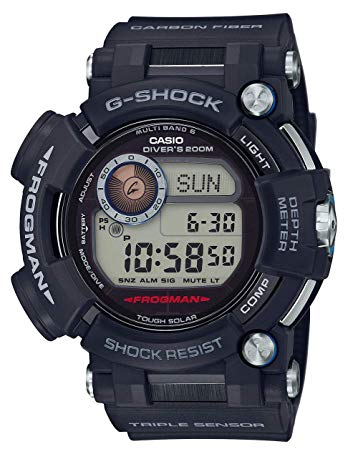casio diving watches with depth gauge