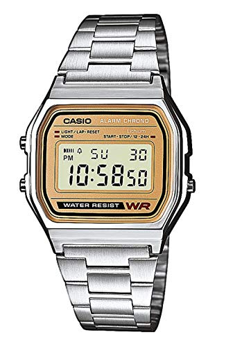 casio gold and silver