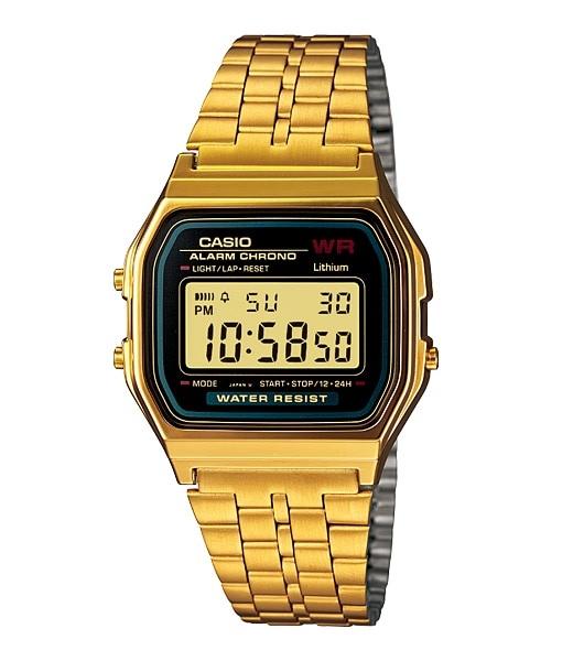 casio gold watch man A159WGEA-1EF