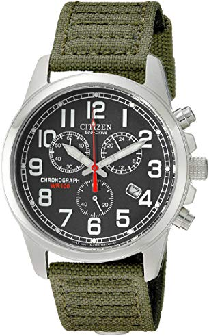 citizen eco drive chronograph wr100