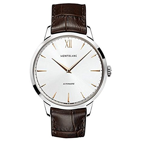 classic watch for men Montblanc HERITAGE SPIRIT 110965 Automatic Leather