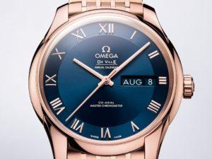 elegant omega watch De Ville Hour Vision