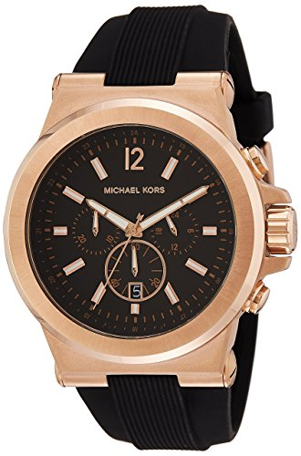 man watch with rubber strap Michael Kors - Dylan