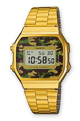 military gold casio