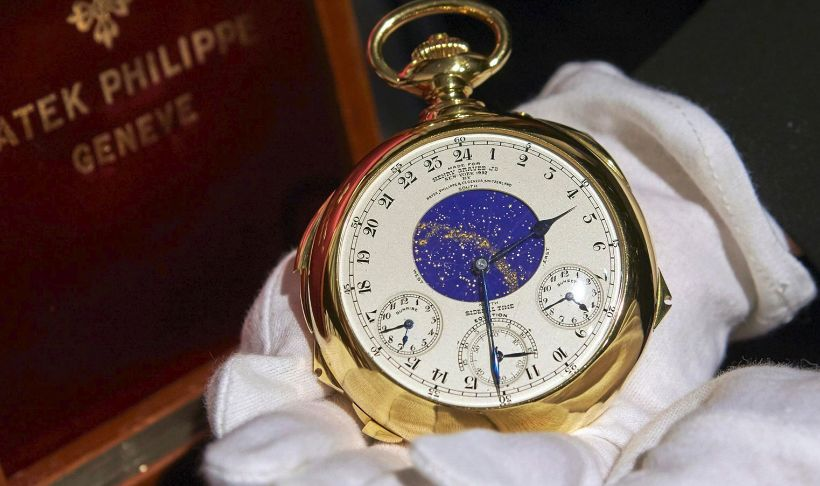 most expensive pocket watch - Patek Philippe Henry Graves Supercomplication
