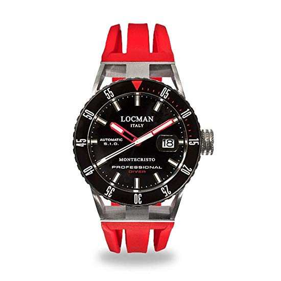 Red Locman Automatic Watch