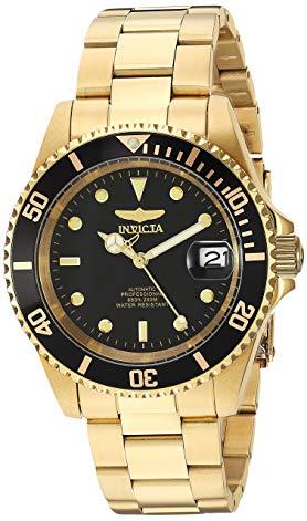 watch invicta gold