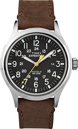 Watch With Leather Strap Under 100 Dollars