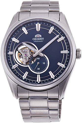 orient Bambino small seconds blue stainless