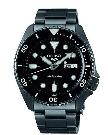 New Seiko 5 Sports SRPD65K1 Matt Black