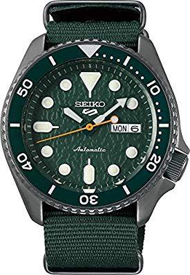 Seiko 5 Sports Sense SRPD77K1 – Green Textured Dial