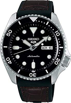 Seiko 5 Sports Specialist SRPD55K2 – Leather and Rubber Strap