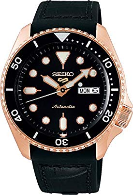 Seiko 5 Sports Specialist SRPD76K1 – Rose Gold Case