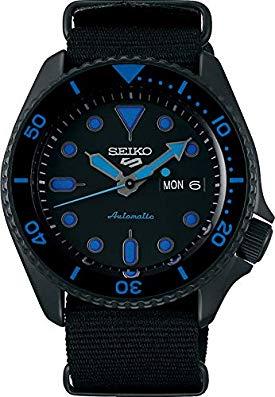 Seiko 5 Sports Street SRPD81K1 – Blue With NATO Strap