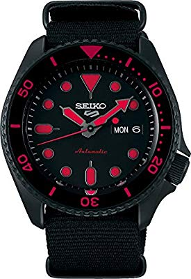 Seiko 5 Sports Street SRPD83K1 – Red With NATO Strap
