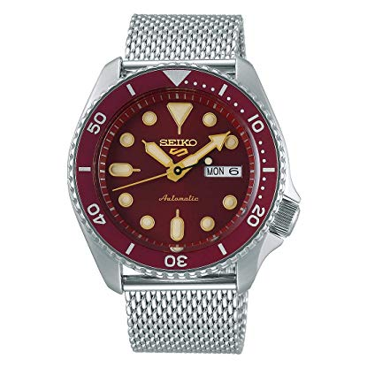 Seiko 5 Sports Suits SRPD69K1 – Red