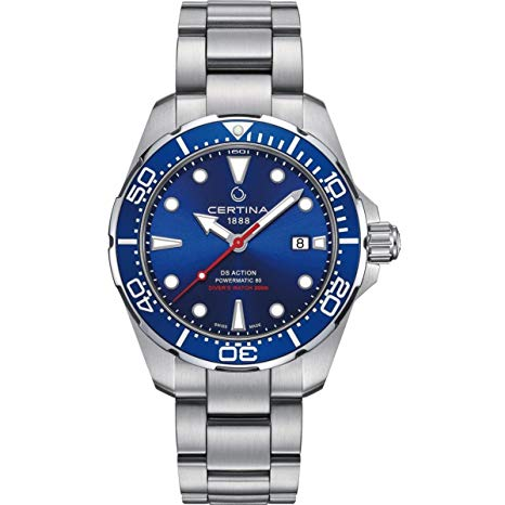 Swiss Watches Under 1000 Dollars – Certina DS Action Diver Powermatic 80