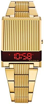 gold colored bulova