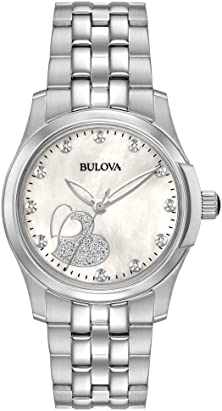 bulova with diamonds