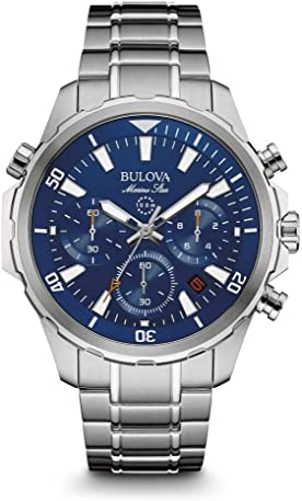bulova blue dial