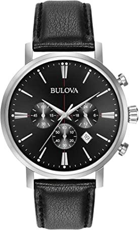 bulova black dial