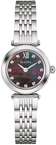 bulova diamond watch with diamonds